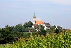 Andechs Kloster Lizenzfreie Stockfotografie
