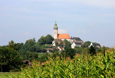 Andechs monastery royalty free stock photography