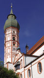 Andechs monastery. In one of the most famous places of pilgrimage in Bavaria in Germany Royalty Free Stock Photography