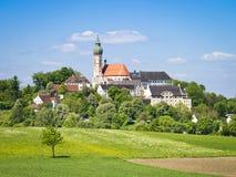 Andechs Monastery in Bavaria Germany Stock Photos
