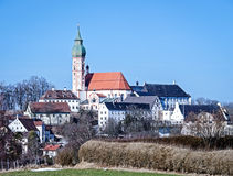 Andechs monastry Royalty Free Stock Photos