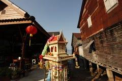 Andehus i Thailand arkivbilder