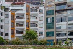 Andelsfastigheter i det Barranco området Fotografering för Bildbyråer