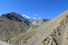 Anden-Berge in Argentinien Stockbilder