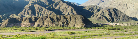 Anden-Berge in Argentinien Lizenzfreies Stockfoto