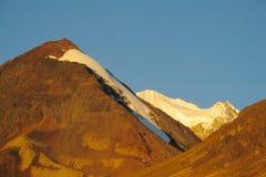 Anden-Berge bei Sonnenuntergang Stockbilder
