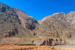 Anden-Berglandschaft Stockfoto