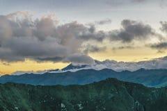 Anden-Strecken-Berge Latacunga Ecuador Lizenzfreies Stockfoto
