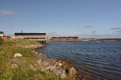 Andenes, Andøya, Norwegen Stockfotografie
