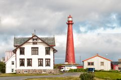 Andenes Lighthouse Stock Images