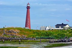 Andenes Lighthouse Royalty Free Stock Photos