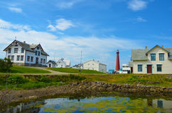 Andenes. Is a village and former municipality in the Vesterålen district of Nordland county, Norway. The municipality encompassed the northern part of the Stock Image