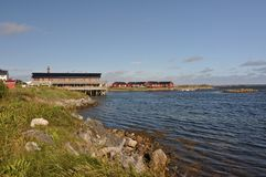 Andenes, Andøya, Norway Stock Photography