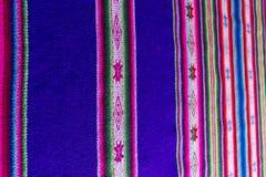 Andengewebe in der Alpaka- und Blattwolle Stockfotos