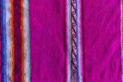 Andengewebe in der Alpaka- und Blattwolle Stockbild