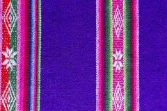Andengewebe in der Alpaka- und Blattwolle Lizenzfreies Stockfoto