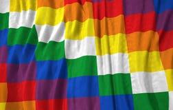 Andenillustration der völkerflagge 3D Stockbilder