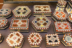 Andenken des Alhambra-Palastes, in Granada, Andalusien, Spanien Lizenzfreie Stockbilder