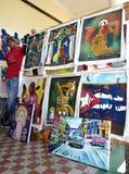 Andenken für Verkauf auf Kubaner Stockfoto