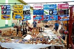 Andenken für Verkauf auf Kubaner stockfotografie