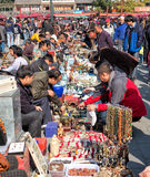 Andenken am Peking-antiken Markt in Peking Stockbilder
