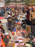 Andenken an Peking-Antikmarkt in Peking Stockbilder