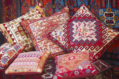 Andenken pillows in Icheri Sheher, Baku, Aserbaidschan Stockfotos