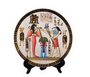 Andenken-Platte Ägypten Lizenzfreie Stockbilder