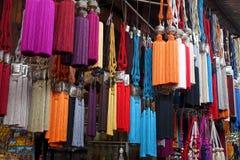 Andenken vom Markt in Marrakesch Stockbilder