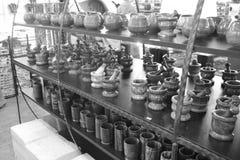 Andenken vom Onyx im türkischen Shop Stockfotos