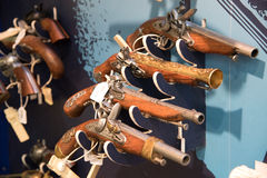Andenkengewehr an mont Heiligem Michel Stockfotografie