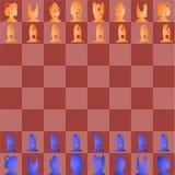 Ander schaak. royalty-vrije illustratie