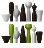 Andere Vasen Stockfoto