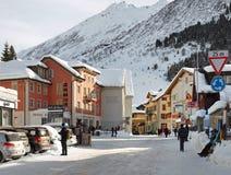 Andermatt, Suisse Image stock