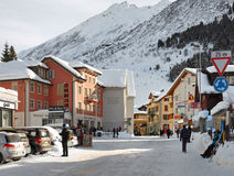 Andermatt, Switzerland Stock Image