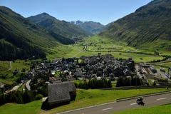 Andermatt, Urner Alpen, Svizzera Immagini Stock