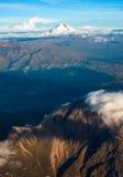 Anderna. Ecuador.Cotopaxi-vulkan Arkivbild