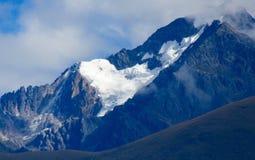 Anderna glaciär Royaltyfria Bilder
