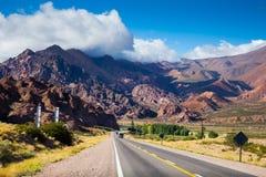 Anderna near vägen för NR 7 Fotografering för Bildbyråer