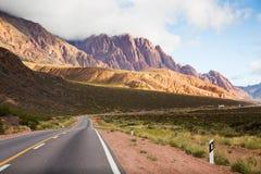 Anderna near vägen för NR 7 Royaltyfri Foto