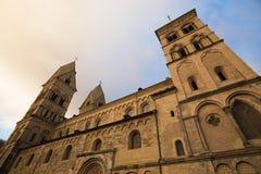 Andernach Alemanha da igreja de Liebfrauen foto de stock