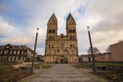 Andernach Alemanha da igreja de Liebfrauen fotos de stock royalty free