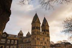 Andernach Allemagne d'église de Liebfrauen Image stock