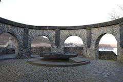 A memorial in Andernach, Germany royalty free stock image
