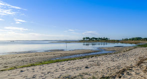 Andernos les Bains beach, Gironde, France Royalty Free Stock Images