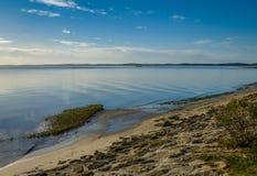 Andernos les Bains beach, Gironde, France Royalty Free Stock Photos