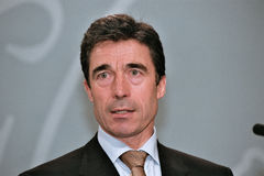 Anders Fogh Rasmussen Royalty Free Stock Images