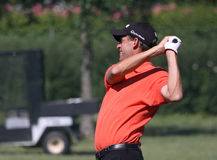 Anders Hansen at golf French Open 2010 Royalty Free Stock Photo