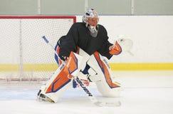 Anders Nilsson - New York Islanders Stock Image