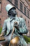 andersen статуя copenhagen Стоковое Изображение